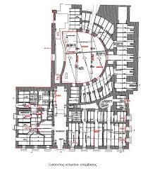 National Theatre Floor Plan Greek National Theatre U2013 Penelis Consulting Engineers S A