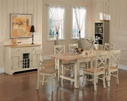 shabby chic kitchens pictures simple white wooden dining table