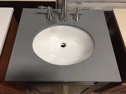 Bathroom Vanity With Offset Sink Bathrooms Design L Bathroom Vanity Top X Marble With Undermount