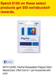 cvs prepaid cards paypal mastercard ecb deal at cvs buy 15 get a 50 ecb living