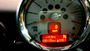 mini service light reset cooper clubman 2010 youtube