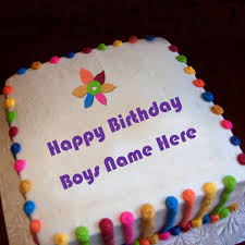 beautiful birthday wishes cakes for boys name pictures