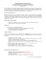 exle of resume to apply sle resume for nursing program fresh exle student