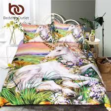 Cheap Bed Sets Queen Size Online Get Cheap Unicorn Bedding Set Aliexpress Com Alibaba Group
