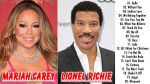 lionel richie and mariah carey top hits lionel richie and mariah