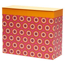 Decorative Hanging File Folders Organizing Your Mail Pile