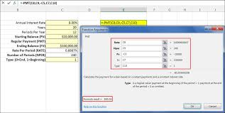 how to calculate monthly loan payments excel the pmt payment function