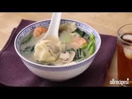 Homemade Comfort Food Recipes Comfort Food Recipes How To Make Homemade Wonton Soup Youtube