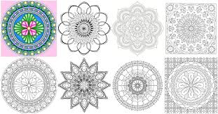 15 Amazingly Relaxing Free Printable Mandala Coloring Pages For Small Coloring Pages