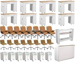 complete nail salon furniture package deal