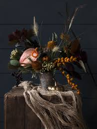 a creepy floral centerpiece for your halloween parties front main