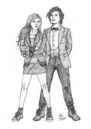 the 11th doctor amy pond by neilufa on deviantart