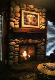 exciting picture of rustic living room decoration using long gas