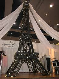 eiffel tower decorations eiffel tower party decorations signature events rental centre