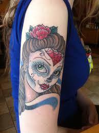 25 best sugar skull name tattoos images on
