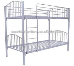 cheap kids living room furniture design metal double bunk bed