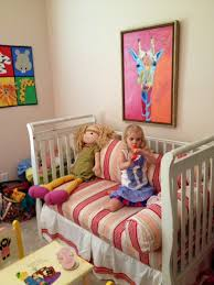How To Convert Crib To Daybed The Not So Stepford Pinterest Inspired Crib Conversion