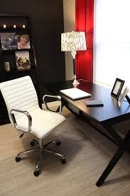 Leather Office Desk Chair White Leather Office Chair Home Office Modern With Bench Seat Desk