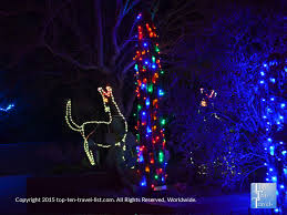 phoenix zoo lights prices attraction of the week phoenix zoo lights top ten travel blog