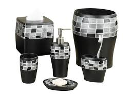 White Bathroom Accessories Set by Using Gray Bathroom Accessories Set For Modern Bathroom Ward Log