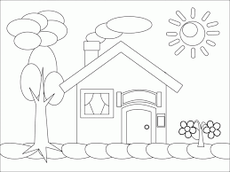 coloring pages gingerbread houses coloring