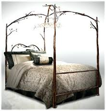 Iron Canopy Bed Best 25 Wrought Iron Beds Ideas On Pinterest Iron Bed Frames
