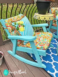 Elite Folding Rocking Chair by I Painted Grandma U0027s Rocking Chairs With New All In One Paint