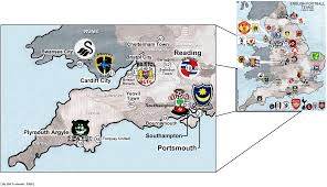 Berkshire England Map by England U0027s Regions Billsportsmaps Com