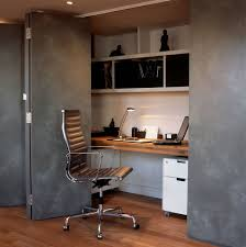 Modern Built In Desk by Enclosed Desk With Traditional Home Office Also Bookshelves Built