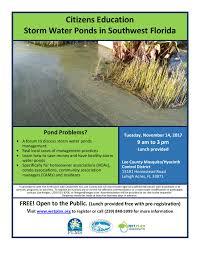 fort pond native plants citizens u0027 education storm water ponds in southwest florida
