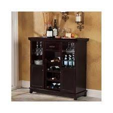 bar cabinet furniture bar cabinet ebay