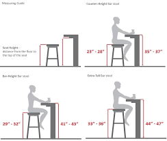 kitchen island height guide to choosing the right kitchen counter stools kitchen