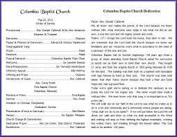 Church Programs Templates Church Bulletin Template Hope Church Bulletin Template Brochure