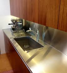 stainless steel countertop with sink romantic dazzling bathroom countertops with sink one piece from