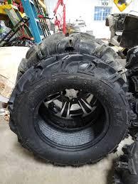 itp mud light tires itp mud light xtr will they grow can am atv forum