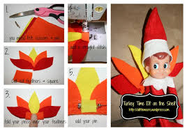 how to make turkey feathers thanksgiving day arrival for the on the shelf how to make his