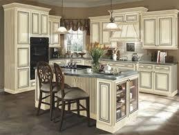 cream kitchen cabinets with glaze antiqued cabinets with chic cream antiqued kitchen cabinets cream