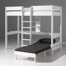 lits mezzanine avec bureau lit mezzanine 140x200 cm avec bureau et rangement places pas cher