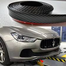 maserati ghibli body kit universal car styling 2 5 meter front lip side skirt body kit with