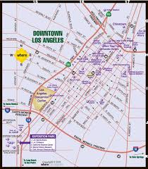 map of downtown los angeles downtown la map where magazine downtown los angeles map