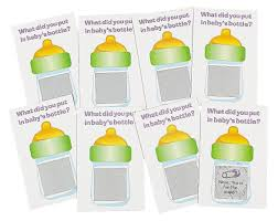 amazon com baby shower scratch tickets baby shower scratch n win