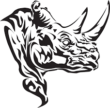 25 wonderful rhino tattoos designs