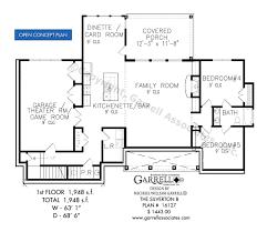 silverton b house plans by garrell associates inc