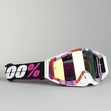 100 motocross goggle racecraft watermelon gogle cross 100 racecraft glitch fioletowe szybka dostawa