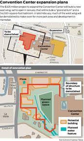 san antonio convention center floor plan convention center expansion on track san antonio officials say