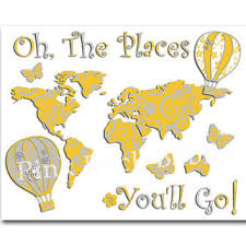 oh baby the places you ll go best oh the places you will go wall products on wanelo