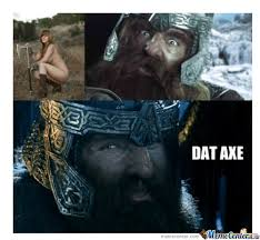 Axe Meme - dat axe by rashi meme center