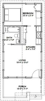 1 bedroom cottage floor plans 16x30 1 bedroom house 16x30h1 480 sq ft excellent floor