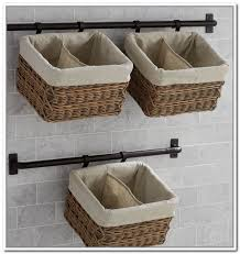 Bathroom Wall Storage Bathroom Wall Storage Baskets Home Design Ideas