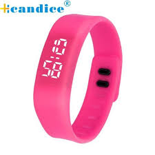 led rubber bracelet images Splendid luxury brand led sports running watch men electronic jpg